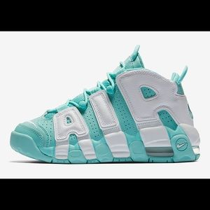 Nike Air More Uptempo Island Green Sneakers